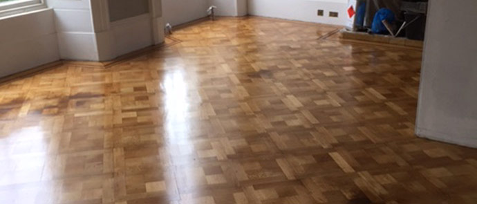 Oak Parquet Floor Restoration